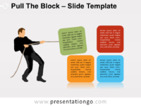 Free Pull The Block Infographic for PowerPoint