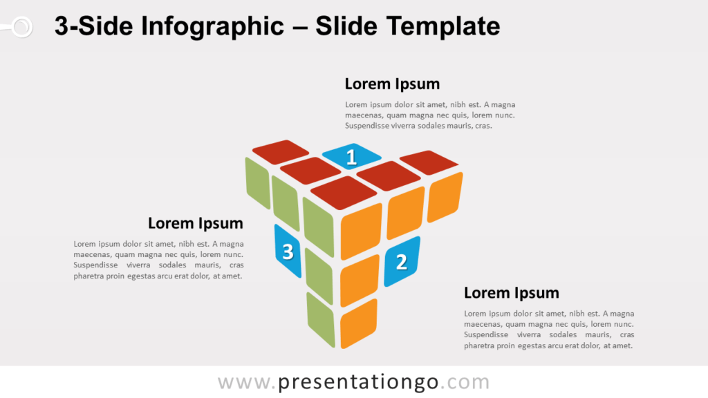 Free 3-Side Infographic for PowerPoint and Google Slides