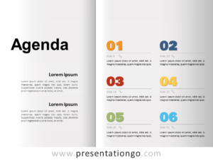 Free Agenda Template for PowerPoint