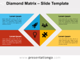Free Diamond Matrix for PowerPoint
