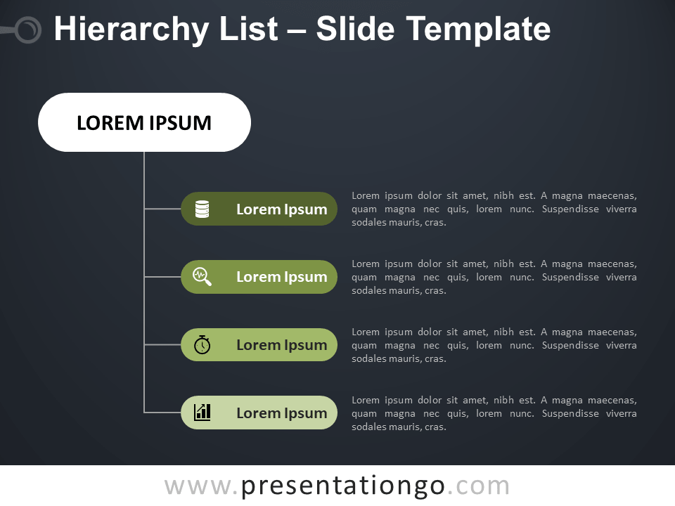 Free Hierarchy List for PowerPoint