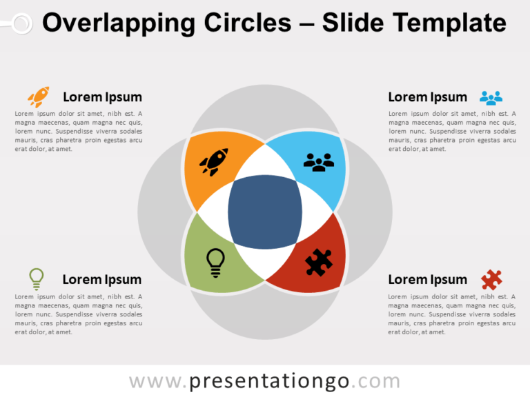 Free Overlapping Circles for PowerPoint