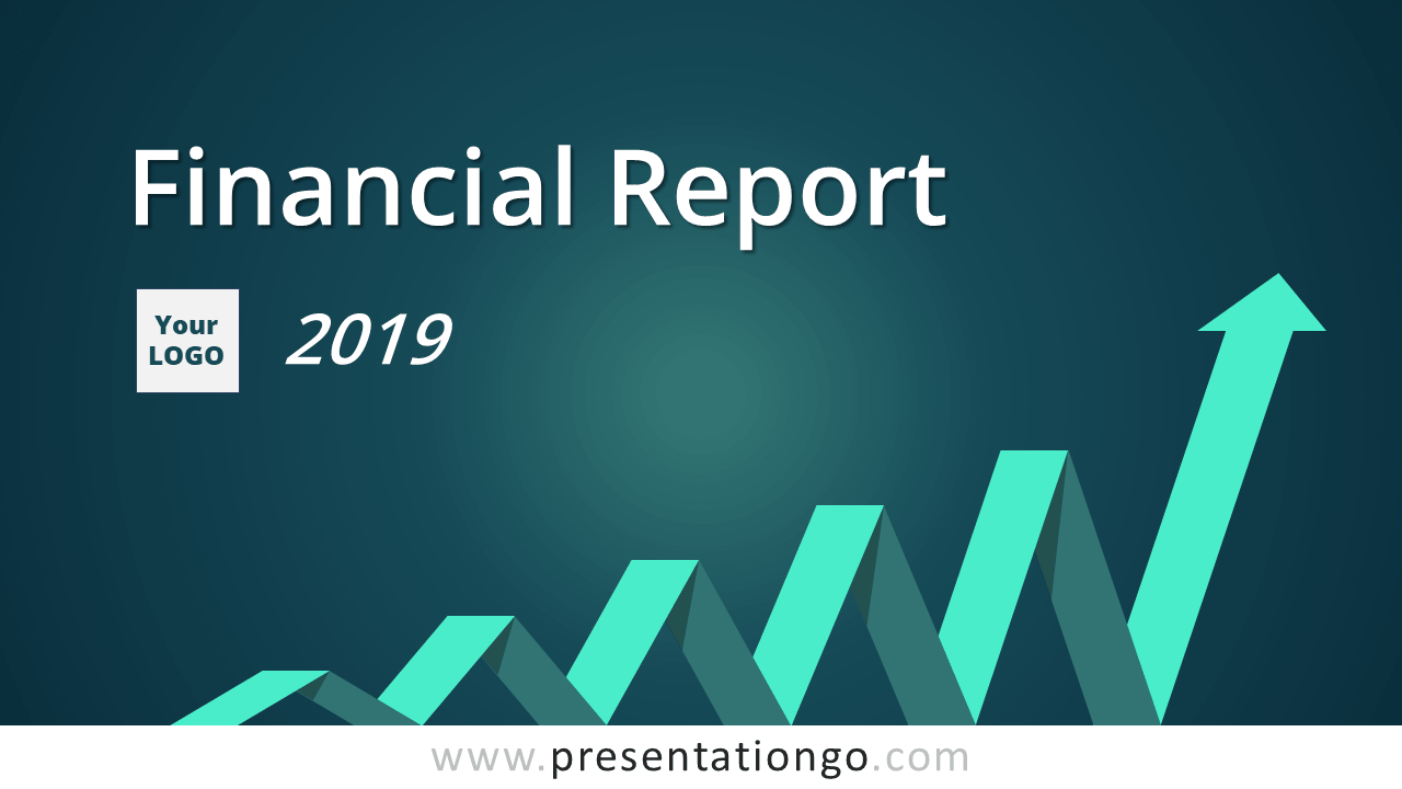 Free PowerPoint Theme Financial Report