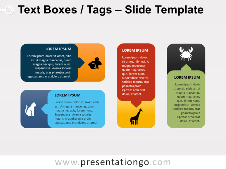 Free Rounded Corner Text Boxes (Tags) for PowerPoint