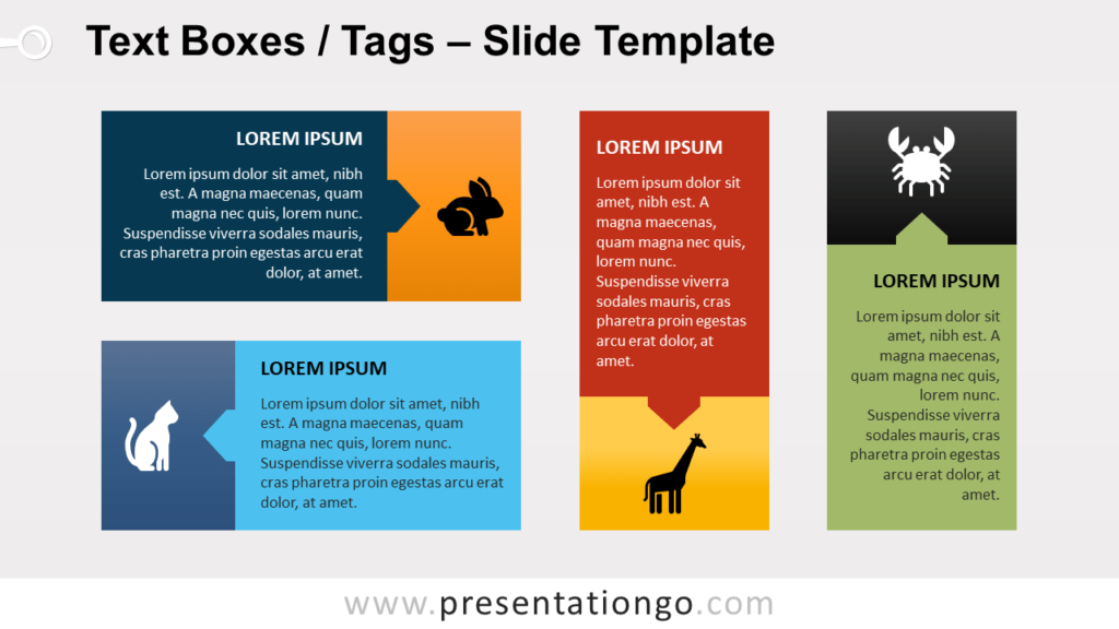 Free Text Boxes (Tags) for PowerPoint and Google Slides