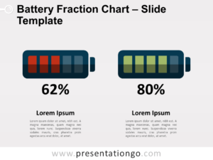Free Battery Fraction Chart for PowerPoint