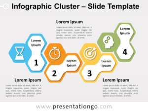 Free Infographic Cluster for PowerPoint