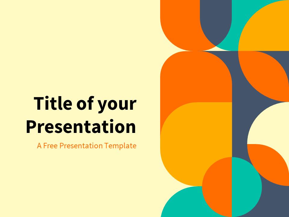 Free Orange Powerpoint Templates Presentationgo Com