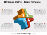 Free 3D Cross Matrix for PowerPoint