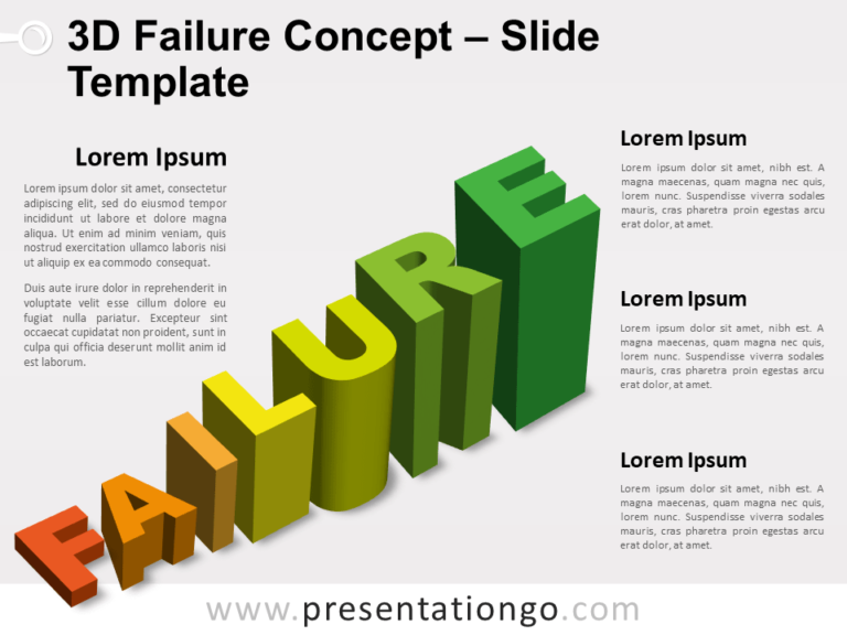 Free 3D Failure for PowerPoint