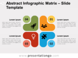 Free Abstract Matrix for PowerPoint