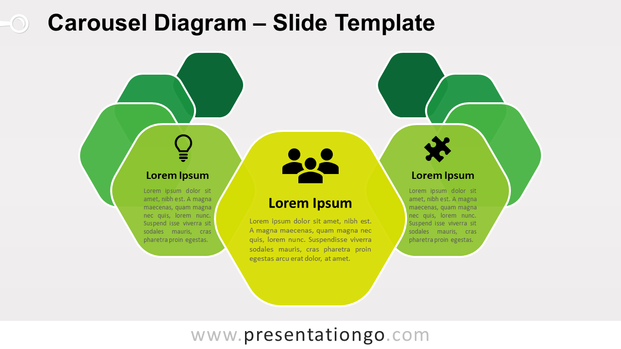 Free Carousel Diagram for PowerPoint and Google Slides