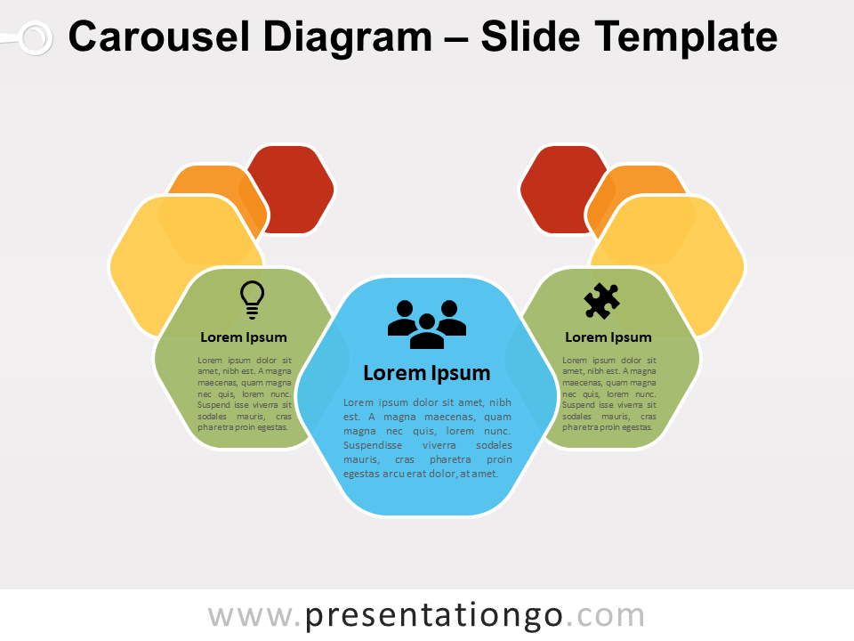 Free Carousel Diagram Slide for Google Slides