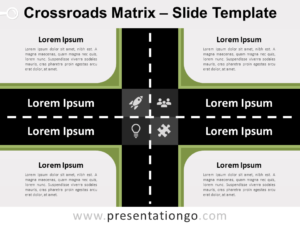 Free Crossroads Matrix for PowerPoint