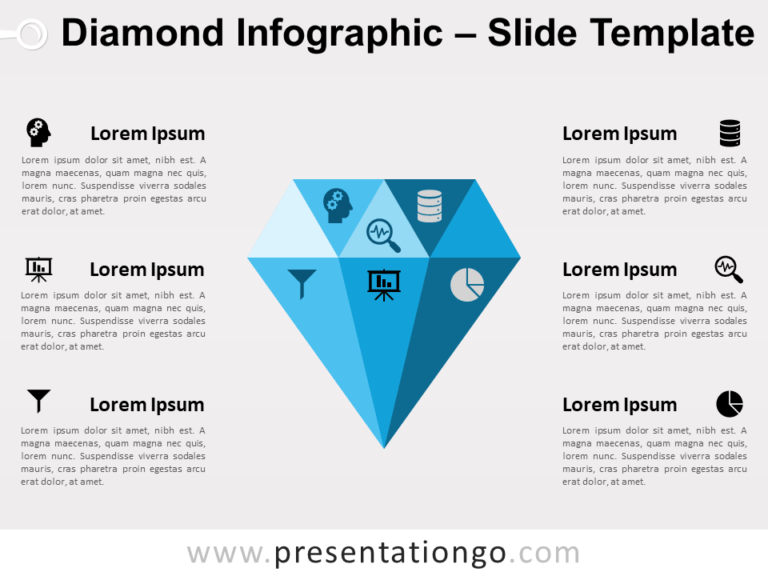 Free Diamond for PowerPoint