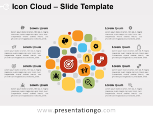 Free Icon Cloud for PowerPoint