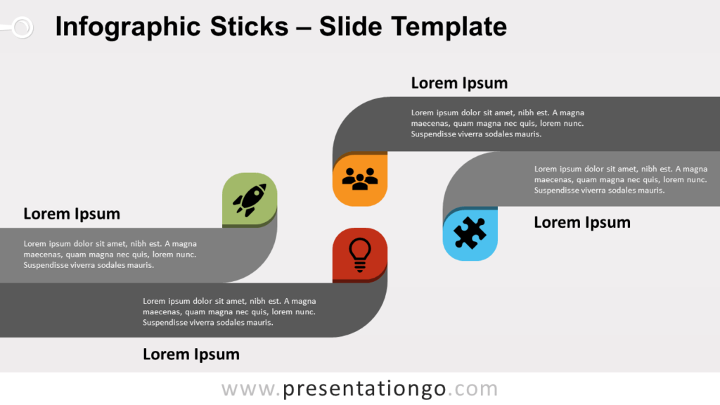 Free Infographic Sticks for PowerPoint and Google Slides
