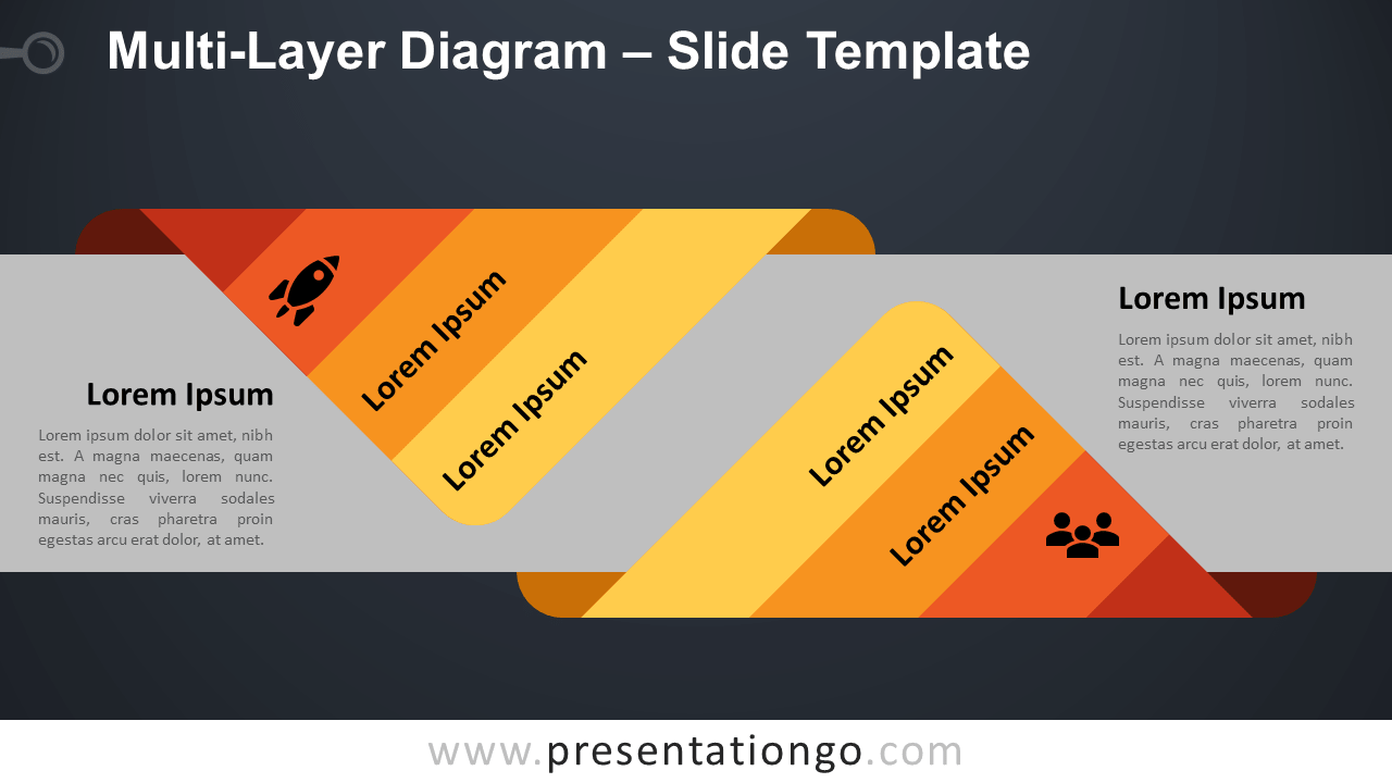 Free Multi-Layer Diagram Infographic for PowerPoint and Google Slides