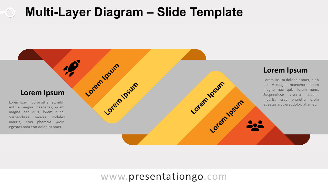 Free Multi-Layer Diagram for PowerPoint and Google Slides