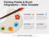 Free Painting Palette Brush for PowerPoint