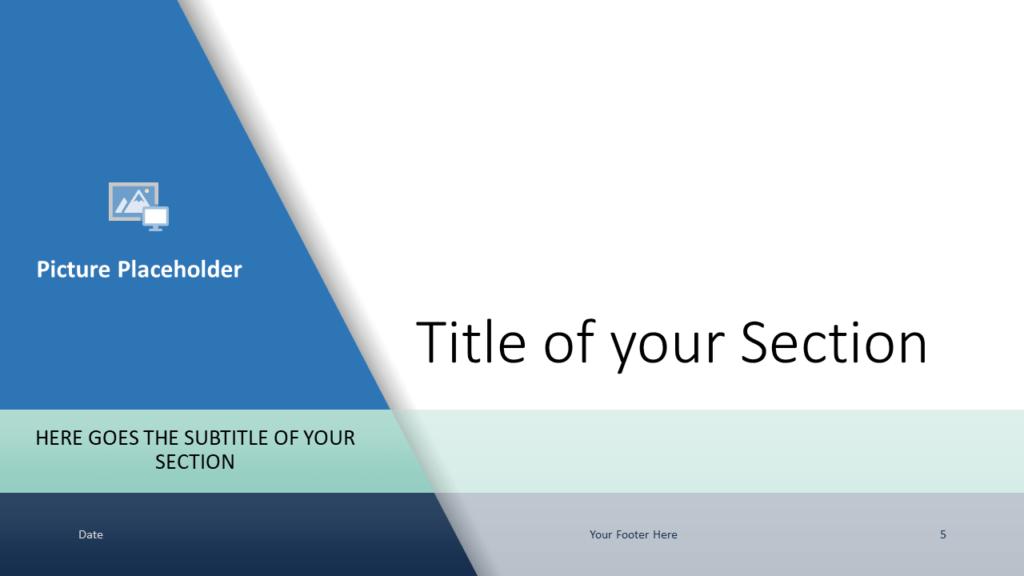 Voonex - Business Template for Google Slides - Section (variant 2)
