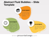 Free Abstract Fluid Bubbles for PowerPoint