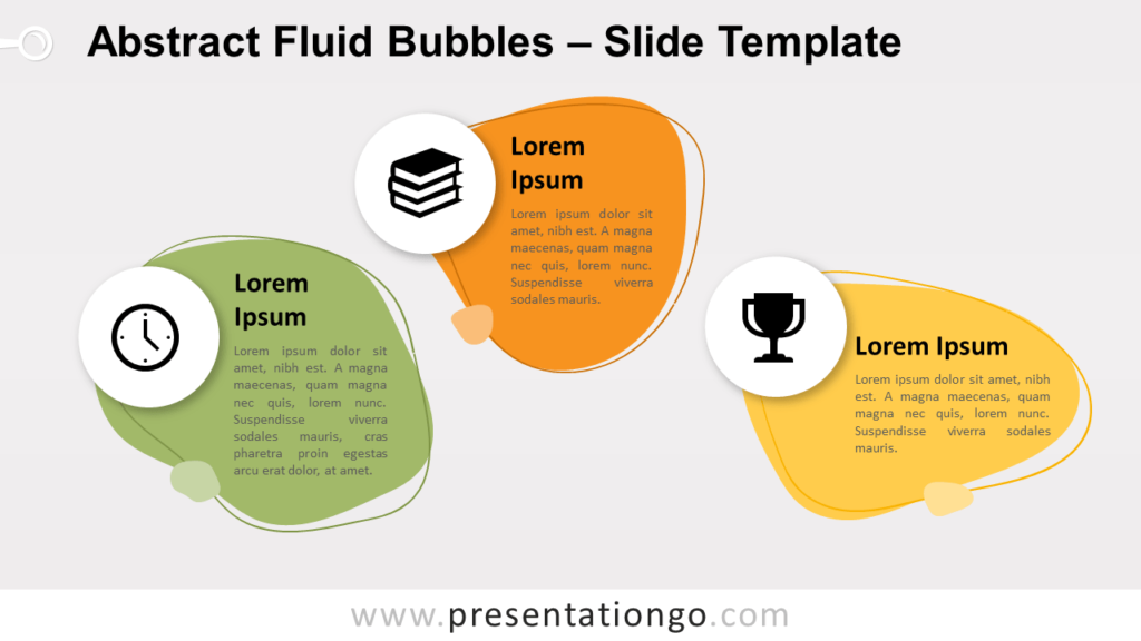 Free Abstract Fluid Bubbles for PowerPoint and Google Slides