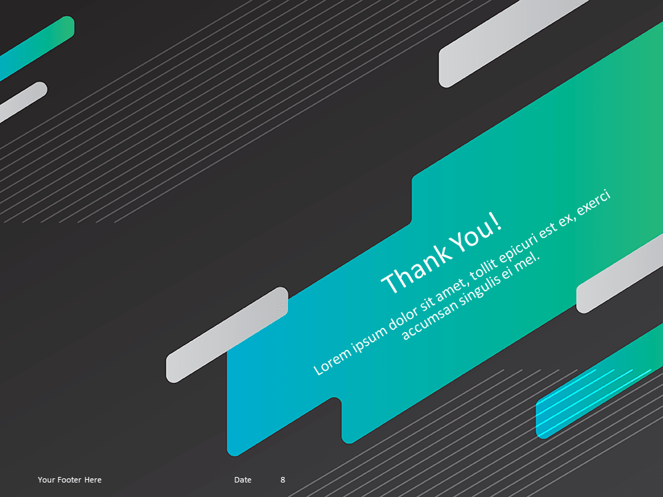 Free Gaming Template for Powerpoint - Thank You