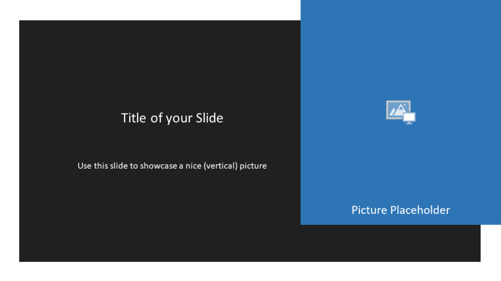 Free Gray Frame Template for Powerpoint and Google Slides - Picture Placeholder