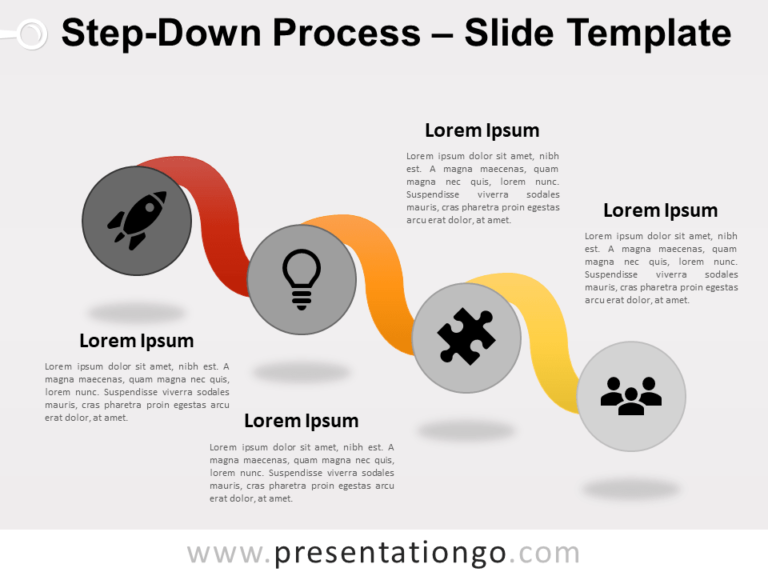 Free Step-Down Process for PowerPoint