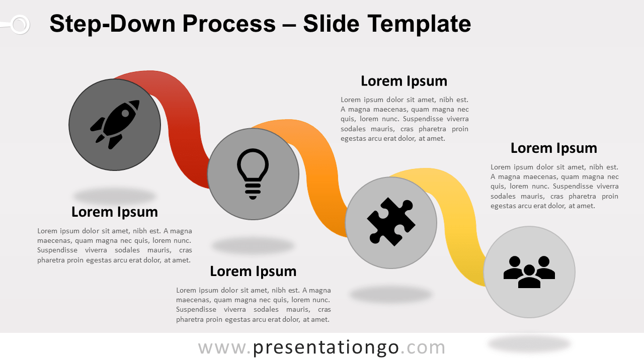 Free Step-Down Process for PowerPoint and Google Slides