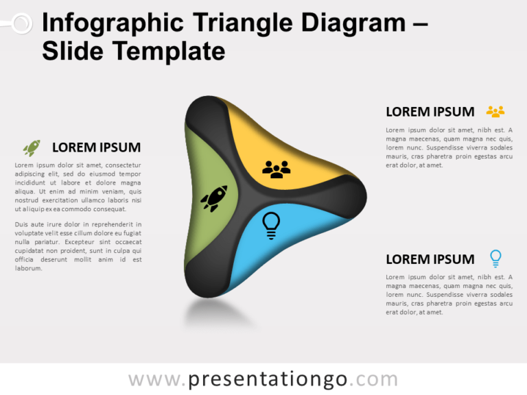 Free Triangle Diagram for PowerPoint