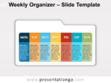 Free Weekly Organizer for PowerPoint
