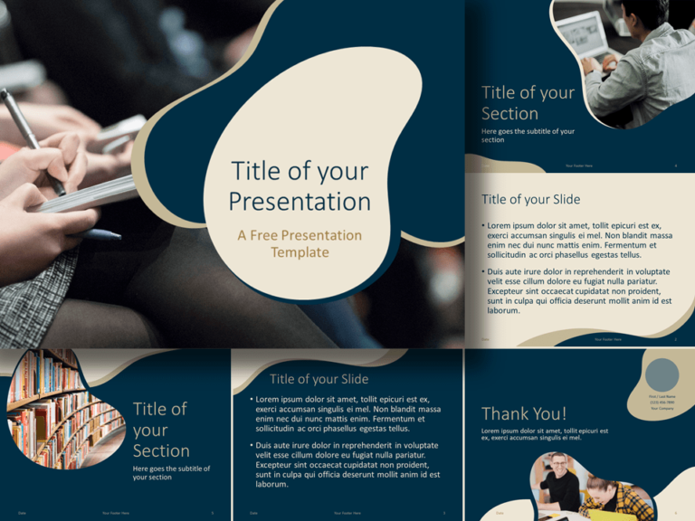 Free UNIVERSITY Education Template for Google Slides and PowerPoint