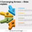 Free 3D Converging Arrows for PowerPoint