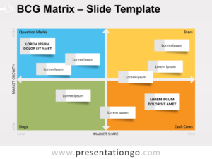 Free BCG Matrix Template for PowerPoint