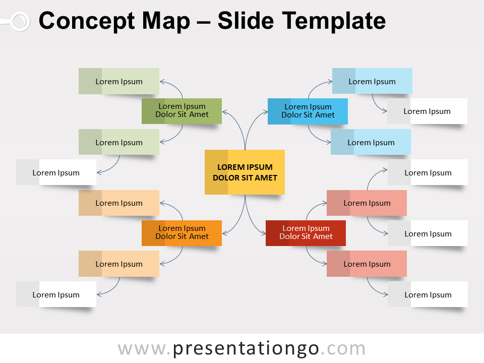 Free Powerpoint Templates About Mindmap Presentationgo Com