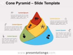 Free Cone Pyramid for PowerPoint