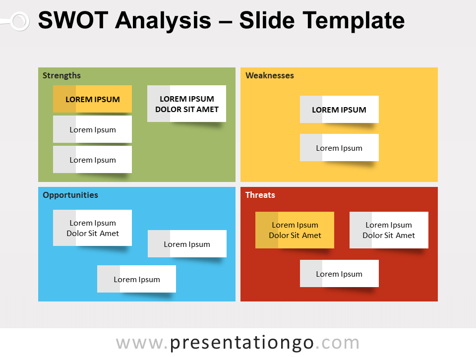 Free Swot Analysis Powerpoint Templates Presentationgo Com