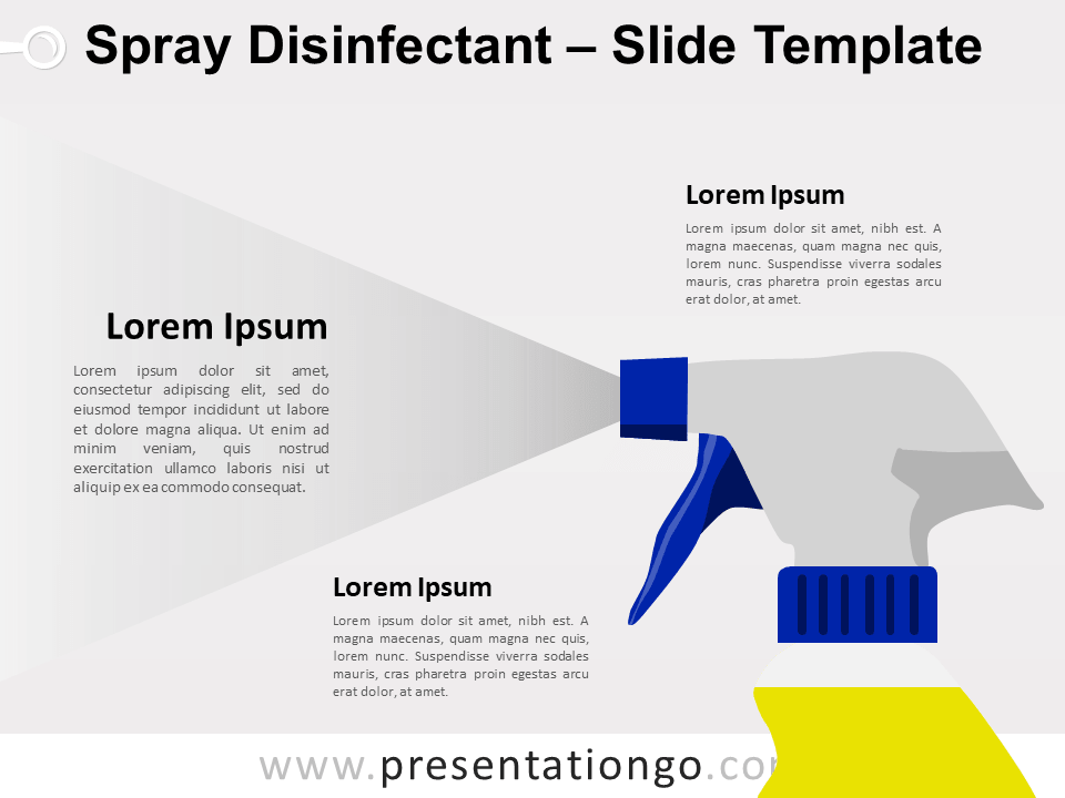 Free Spray Disinfectant for PowerPoint