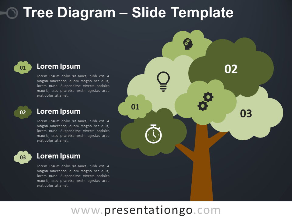 Free Tree Diagram Template for PowerPoint