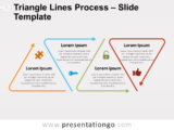 Free Triangle Lines Process for PowerPoint