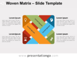 Free Woven Matrix for PowerPoint