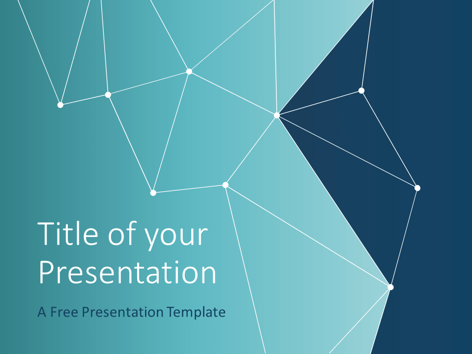 Free SCIENCE & TECH Template for PowerPoint - Cover