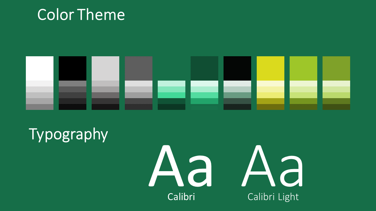 Free TARTAN Abstract Template for Google Slides - Colors Fonts