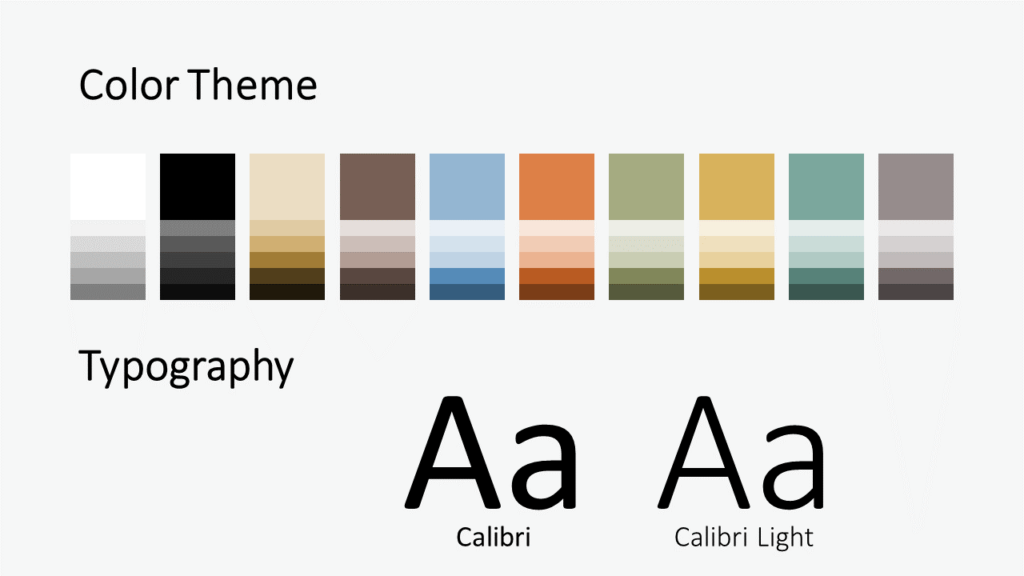Free Torn Paper Creative Template for Google Slides - Colors Fonts