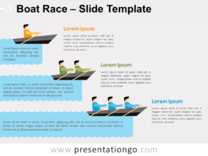 Free Boat Race for PowerPoint
