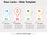 Free Door Locks for PowerPoint