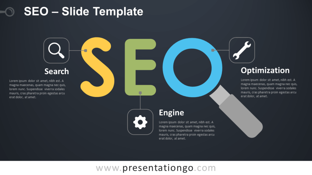 Free SEO Infographic for PowerPoint and Google Slides