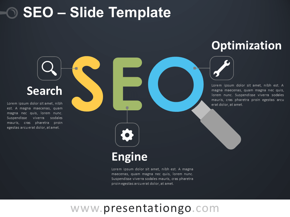 Free SEO Infographic for PowerPoint